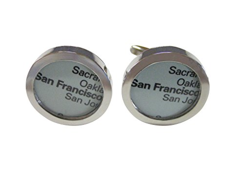 San Francisco Giants MLB Logo'd Executive Cufflinks w/Jewelry Box
