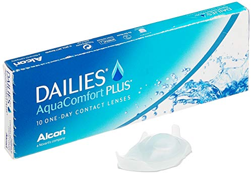Dailies Aquacomfort Plus, 10er Plus Tageslinsen weich, 10 Stück / BC 8.70 mm / DIA 14.00 mm / -8 Dioptrien