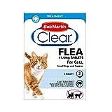 Pastillas antipulgas Bob Martin, para gatos y perros pequeños de menos de 11kg