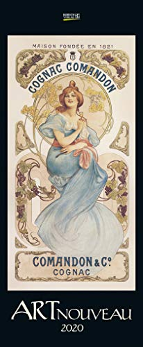 Art Nouveau 2020: Kunstkalender mit Jugendstilplakaten der Belle Époque. Wandkalender im...