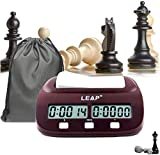 lingye Schachuhr, professioneller Schachtimer, hochauflösende Digitale Anzeige, genaues Timing, Internationale Schach zertifizierte Produkte, zusätzliche (Exquisite Beutel * 1)