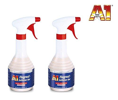 A1 PREMIUMPRODUKT 1 Liter (2 x 500 ml) Dr WACK Auto FLUGROST-ENTFERNER Flugrostentferner Rostlöser