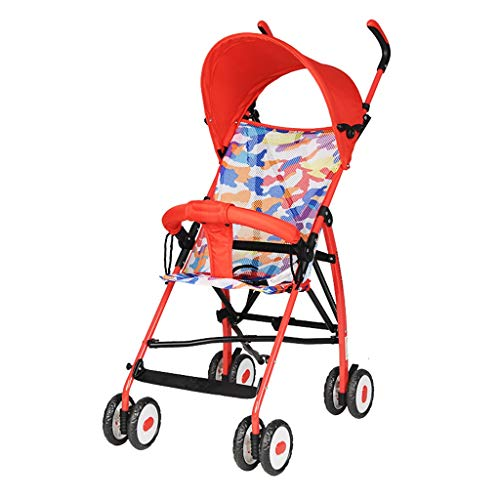 Fantastic Prices! Baby Strollers can sit and Lay Without The Need to Install carts Lightweight Foldi...
