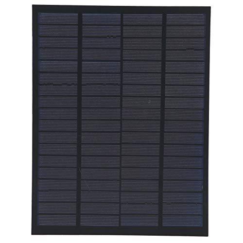 Solar Power Modual Polysilicon Solar Battery Board Portable Sturdy 5W Solar Landscape Lights