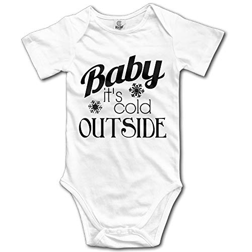 SDGSS Babybekleidung Bodysuits Baby It's Cold Outside Baby Boys Girls Newborn Romper Clothes Outfits