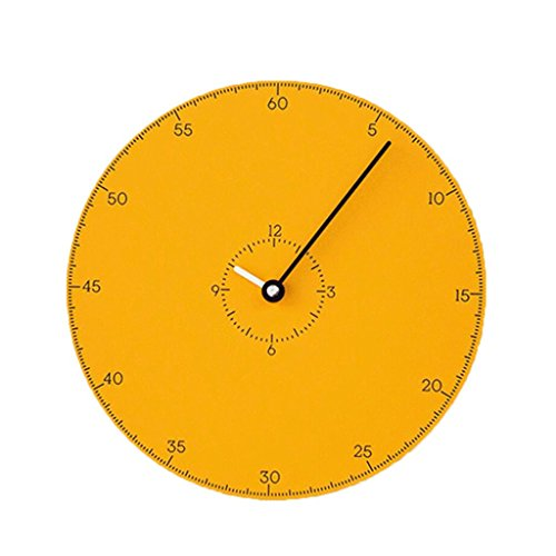 LINGZHIGAN Creative Decorative Wall Clock Cartoon Colorful Clock Retro Chambre Salle d'étude Salon Kid 30cm ( Couleur : B )