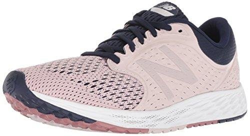 New Balance Women's Fresh Foam Zante V4 Running Shoe, Conch Shell/Pigment, 9 M US
