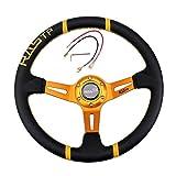 Volanti Sportivi per Auto,Volante da Corsa Universale da 35 CM / 14 Pollici...