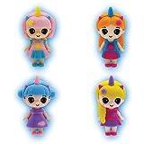 Zoom IMG-2 sbabam unicorn dolls confezione 4