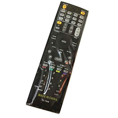 Calvas Fernbedienung für Onkyo HT-R693 RC-735M TX-NR828 HT-R993 TX-SR444 RC-812M HT-S5200S A/V AV-Receiver
