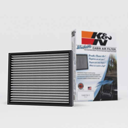 K&N Premium Cabin Air Filter: High Performance, Helps Protect against Viruses and Germs: Designed For Select 2015-2019 Ford/Lincoln (F150, F150 Raptor, F250, F350, F450, Expedition, Navigator), VF2049