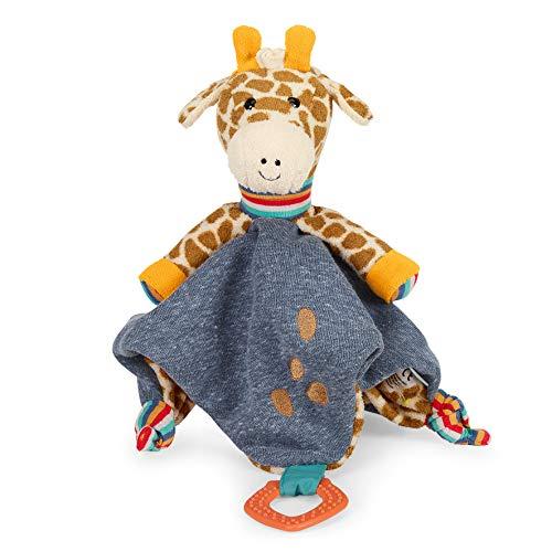 Sterntaler Schmusetuch Kuschelzoo, Giraffe Greta, Alter: Für Babys ab dem 1. Monat, Größe: 38 cm, Farbe: Bunt