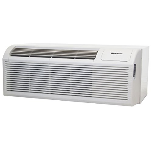 15000 BTU KLIMAIRE 9.6 EER PTHP Heat Pump with 5kW Auxilary Electric Heater includes Wall Sleeve and Aluminum Grille