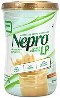 Abbott Nepro LP Powder Vanilla Toffe - Complete Renal Nutrition Carb Steady Lower Protein (400 GMS) for People with Kidney Disease (Non-DIALYZED)