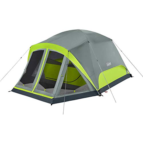 Coleman Camping Tent Skydome 4 Person with Screen Room