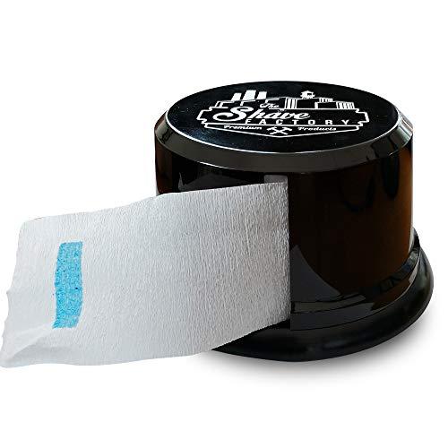SHAVE FACTORY Spender für Nackenpapier Streifen, 140 g