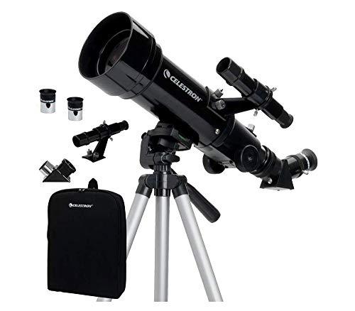 Telescópio Refrator Portátil Celestron Travel Scope 70MM com Tripé e Mochila