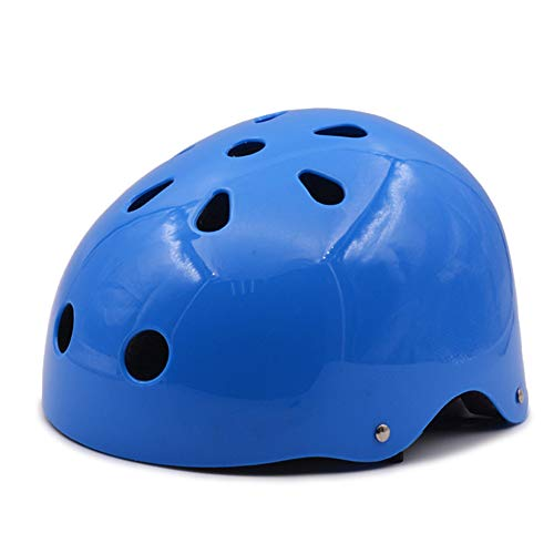 QZPDP Kinderhelm Scooter, Fietshelm, Mountainbikehelm, Verstelbare gesp, Sterke slagvastheid, Geschikt voor Kinderen Volwassene, Skateboarden