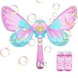 Máquina de Burbujas de Varita mágica de Hadas Pompas de Jabón Juguetes de Burbujas para...