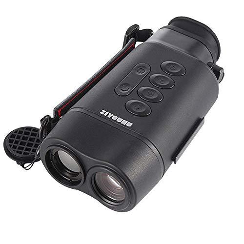 TONGTONG Outdoor-Jagd-Entfernungsmesser High-Definition-HD-Multifunktions-Range-Nachtsichtgerät Scope Mate Entfernungsmesser-Geschwindigkeitsmesser mit Schienenmontage