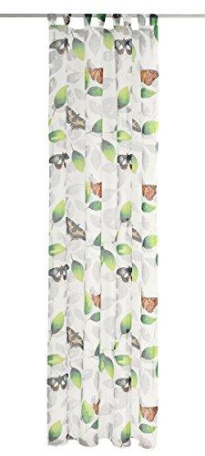 Deko Trends Tenda ad Occhielli, Tessuto, Multicolore