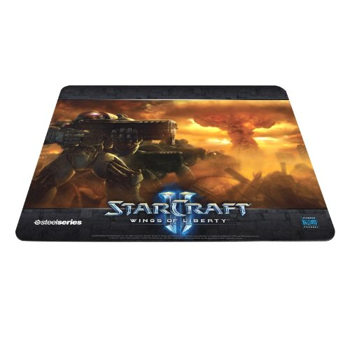 SteelSeries QcK Gaming Surface Mousepad - StarCraft II Wings Of Liberty Marine Limited Edition [Edizione: Regno Unito]