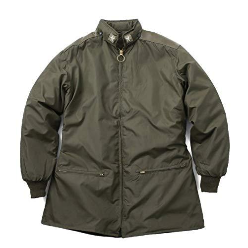 実物 新品 イタリア軍 レインジャケット 初期型 ライナー付き (表記44) 実物 ミリタリー 軍放出品 ミリタリーパンツ メンズ