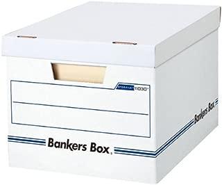 フェローズ バンカーズボックス Basic 3枚パック A4サイズ ホワイト 1103002