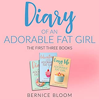 Diary of an Adorable Fat Girl: The First Three Books audiobook cover art