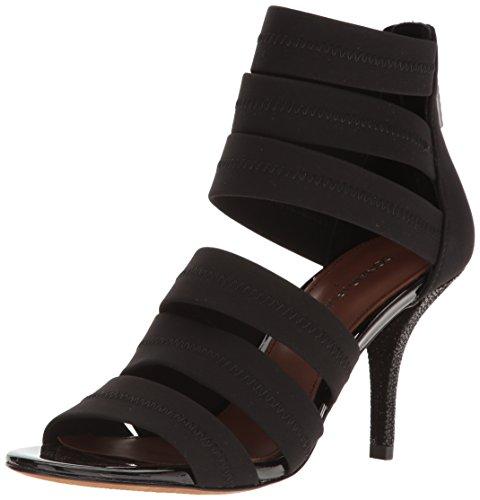 Donald J Pliner Women's Gigee-D Dress Sandal, Black Crepe, 7.5 M US
