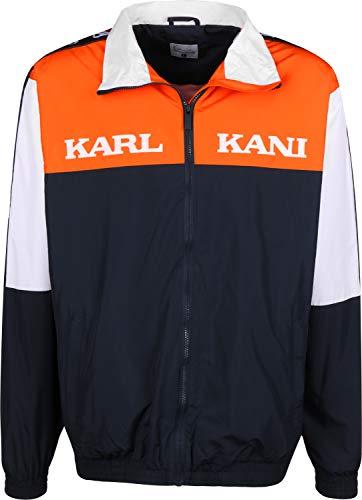 Karl Kani Herren Übergangsjacken Retro Block schwarz XL