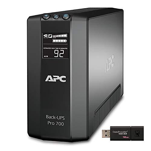 APC Back UPS PRO BR700G Tower UPS Bundle with 16GB DataTraveler USB...
