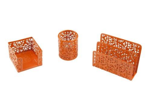 Idena 354028 - Juego de 3 accesorios de escritorio (portalá