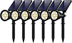 in budget affordable InnoGear solar lights for outdoor use, modified 2-in-1 walls for waterproof solar lights for landscapes …
