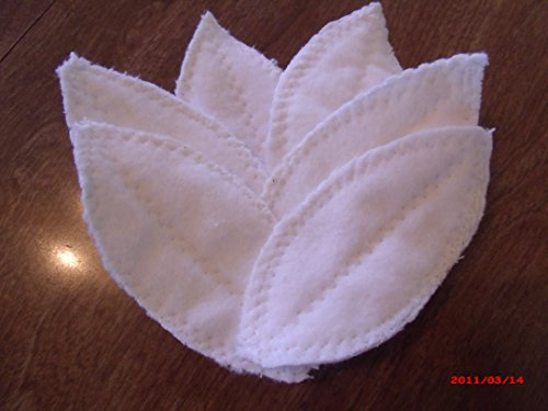 12 piece Tender Petals cloth reusable Intralabial-Interlabial Petals emergency preppers