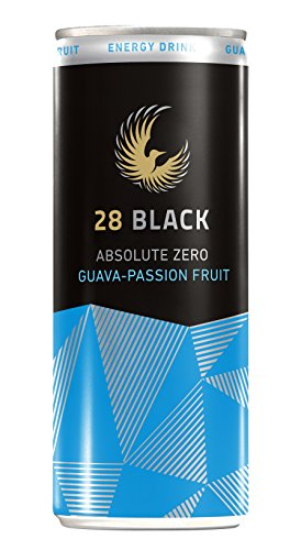 28 Black Absolute Zero Guava-Passion Fruit, 24er Pack, EINWEG (24 x 250 ml)
