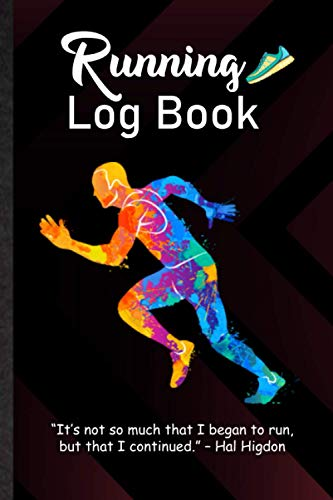 Running Log Book. Running Workout Diary With Motivational Sayings For Runner & Jogger: Simple & Powerful Tool With Uplifting Words To Improve ... Goal. Novelty Gift Idea For Athlete & Coach