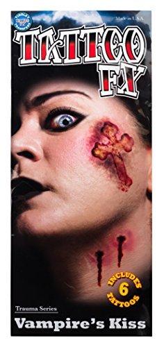 Tinsley Transfers Vampire's Kiss Temporary Tattoo Kit Standard by Tinsley Transfers