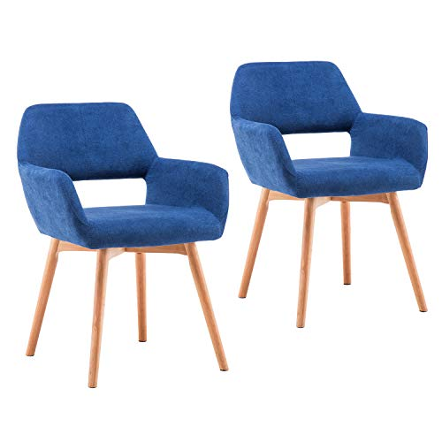 stylish dining chair set for sale blue color