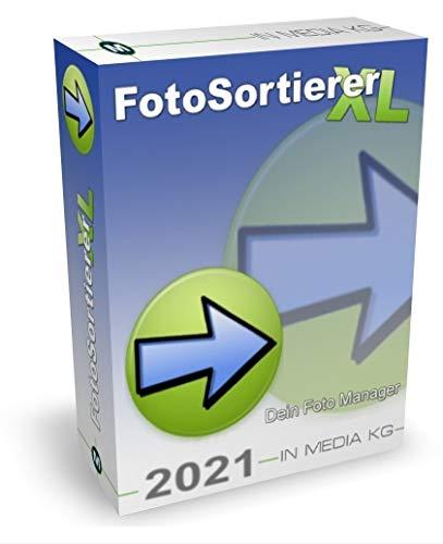 Preisvergleich Produktbild FotoSortierer XL (2021er Version) Fotoverwaltung und Foto Manager zum Fotos sortieren,  Fotos umbenennen,  doppelte Bilder finden und doppelte Fotos löschen. Bilder sortieren war noch nie so einfach.