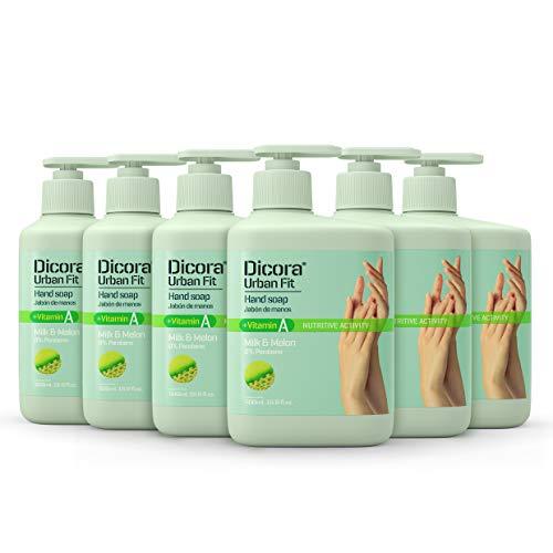 Dicora Urban Fit® Jabón de Manos Vitamina A 500 ml - Pack