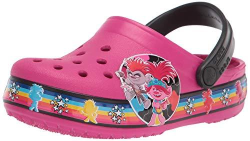Crocs Kids  Trolls 2 Band Clog   Candy Pink  4 Toddler
