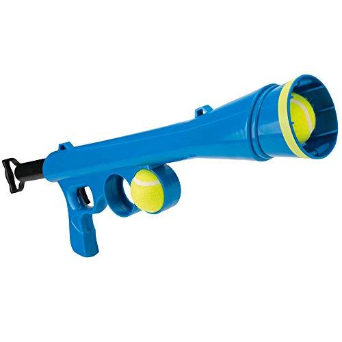 Beeztees Fetch Ballenschieter - Hondenspeelgoed - Blauw - 60x20x8cm