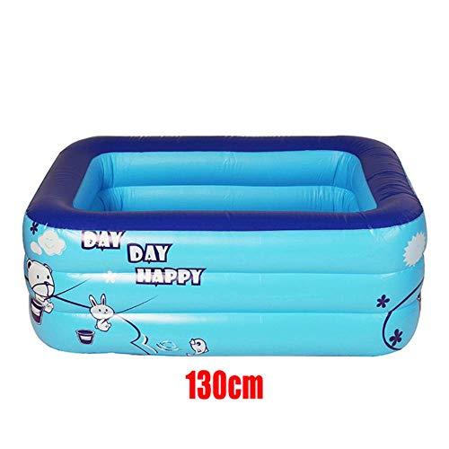CICI 1.2m / 1.3m / 1.5m Adultbaby de Tenis Piscina Inflable Accesorios de baño baño de PVC Flotador de la Piscina Infantil Interior de los Niños,como se Muestra