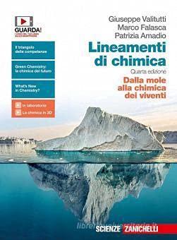 Kit libro scolastico LINEAMENTI DI CHIMICA DALLA MOLE ALLA CHIMICA DEI VIVENTI(9788808428455) 1 copertine trasparenti cavalierini ed evidenziatore