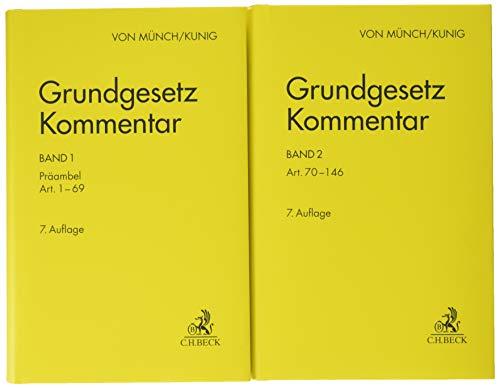 Grundgesetz-Kommentar Gesamtwerk: In 2 Bänden