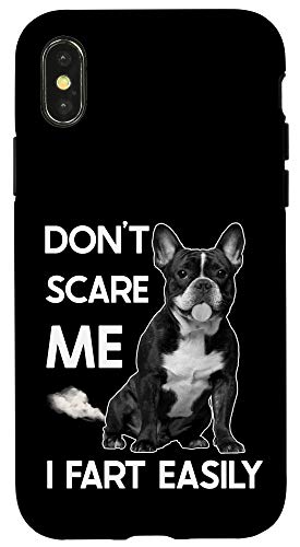 iPhone X/XS Funny French Bulldog Gift Idea for people - Frenchie owner Case