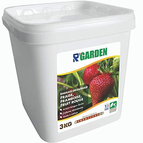R'Garden   Abono orgánico fresa, frambuesa y fruta roja   Fertilizante ecológico...