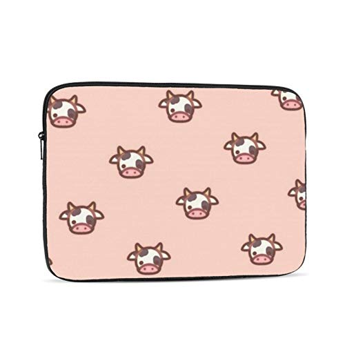 10' 12' 13' 15' 17 Inch Cows Laptop Sleeve Laptop Case Waterproof Notebook Computer Tablet Carrying Bag Cover