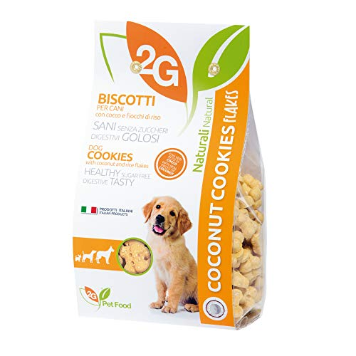 2G Pet Food Coconut Biscotti, Cocco - 350 g